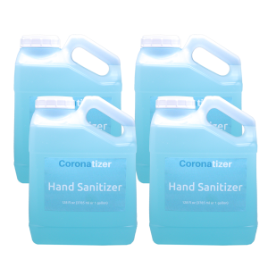 Coronatizer Hand Sanitizer – 4 Gallons
